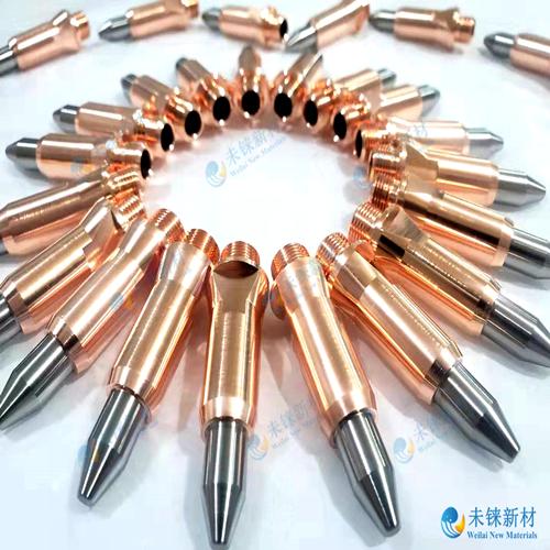 钨铜镶嵌电极