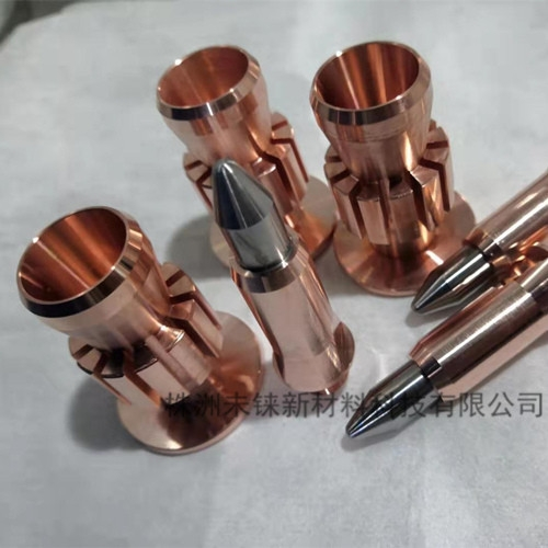 钨铜镶嵌喷涂电极